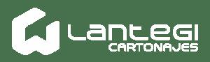 Cartonajes Lantegi. Logotipo Blanco