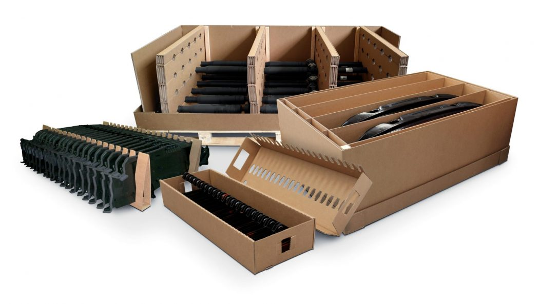 Cajas estándar y e-commerce y embalajes industriales